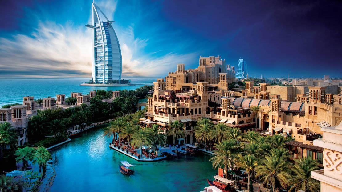 1/14  Jumeirah Mina A Salam Hotel - Dubai