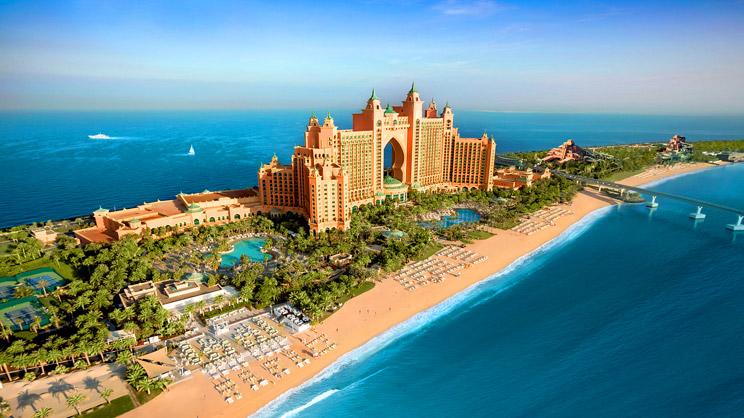 1/15  Atlantis - The Palm Hotel Exterior