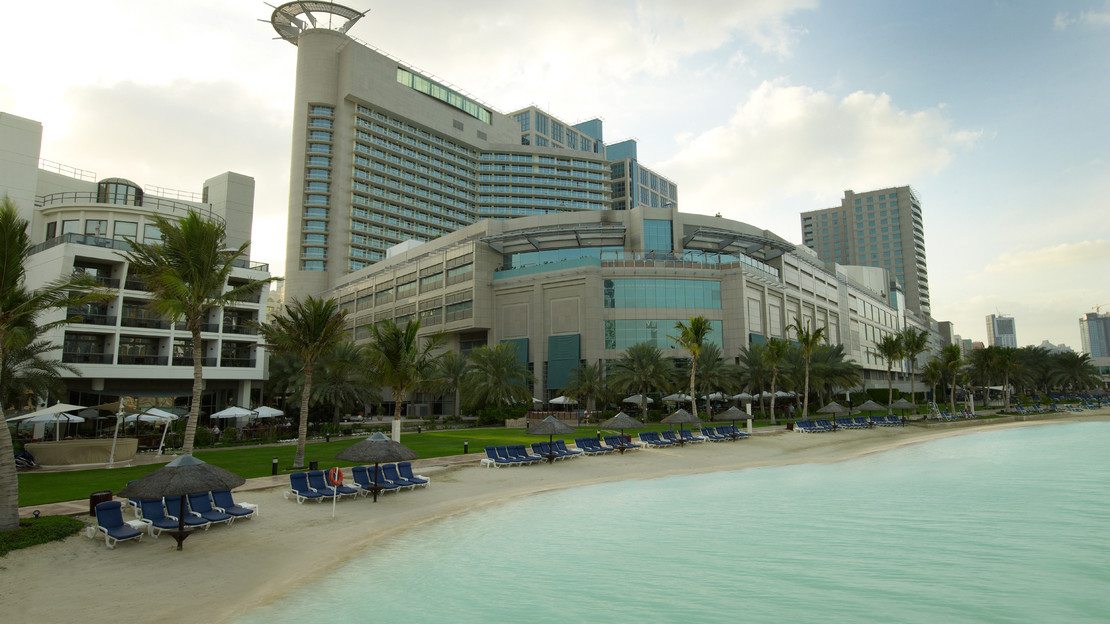 Exterior of Beach Rotana Abu Dhabi