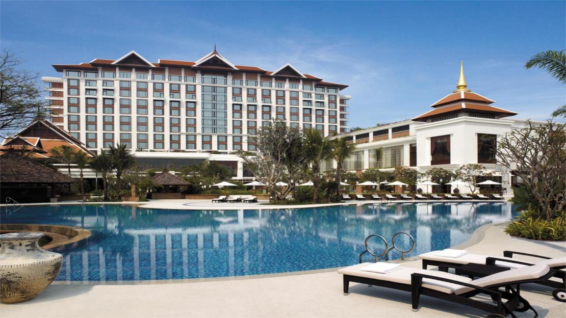 1/6  Shangri-La Hotel, Chiang Mai - Thailand