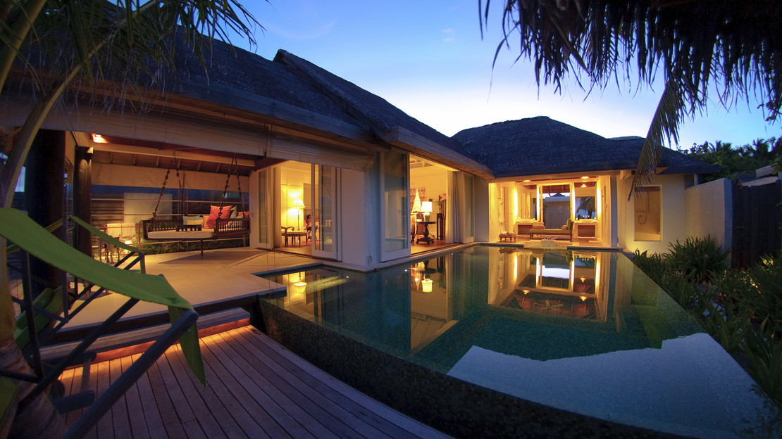 Beach House with Pool