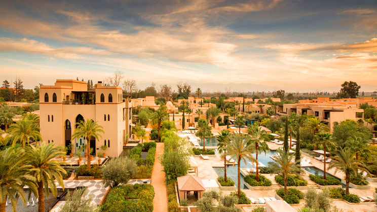 1/9  Four Seasons Resort Marrakech - Morocco