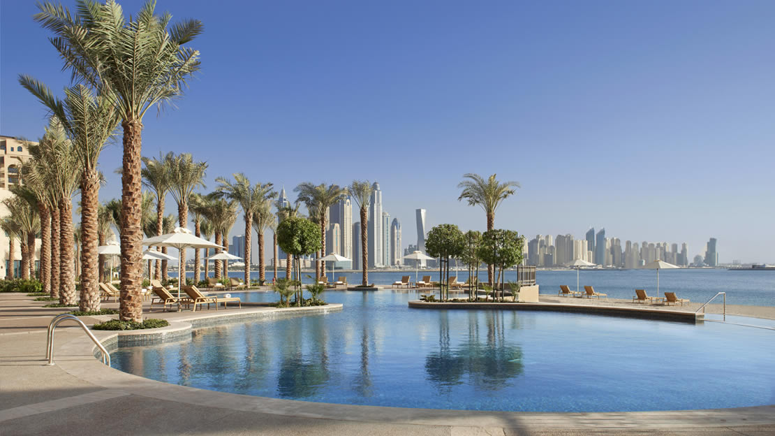 1/9  Pool at Fairmont The Palm - Dubai