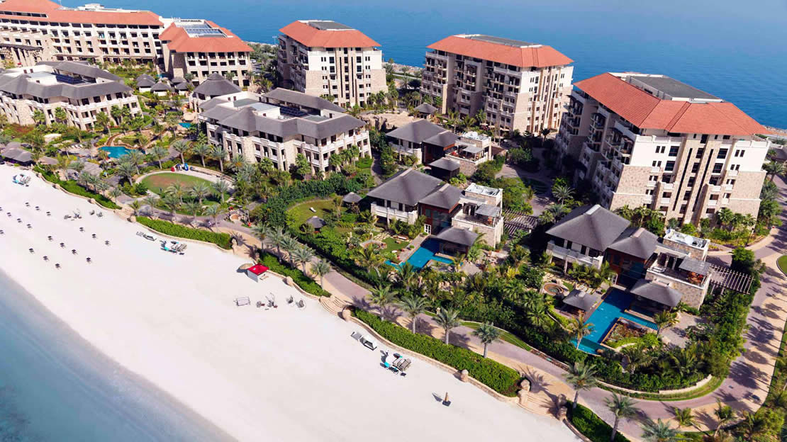 Aerial View - Sofitel Dubai The Palm Resort and Spa