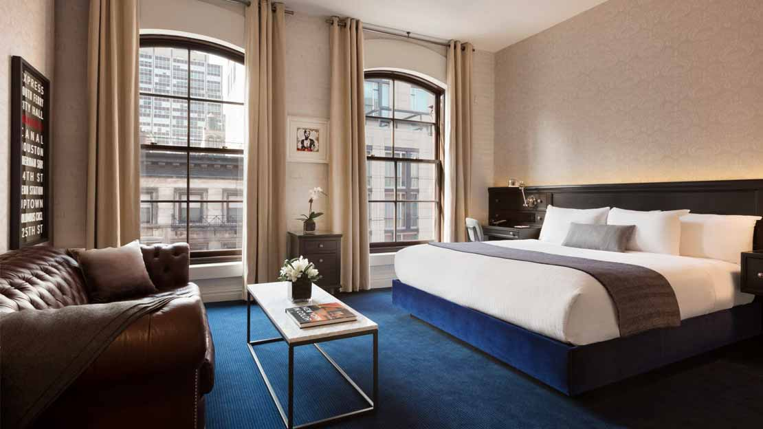 1/5  Cosmopolitan Hotel - New York
