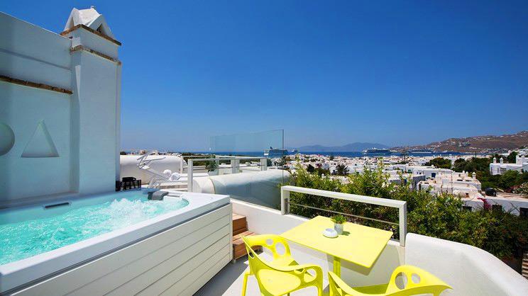 1/10  Semeli Hotel - Mykonos