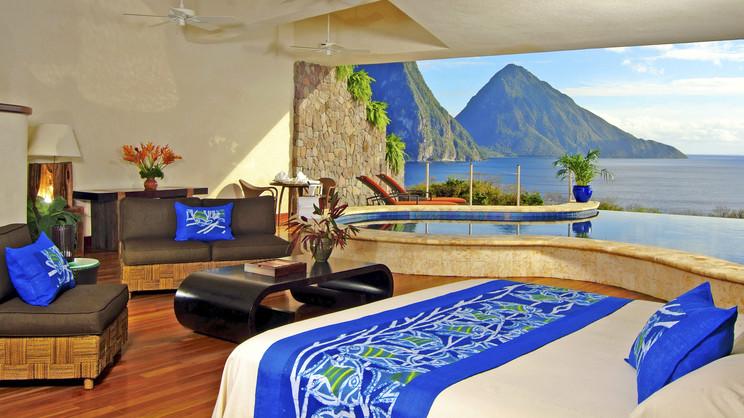 1/14  Jade Mountain - St Lucia