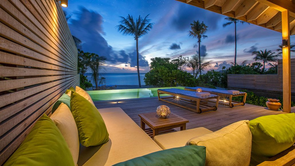 Beach Sunset Pool Villas