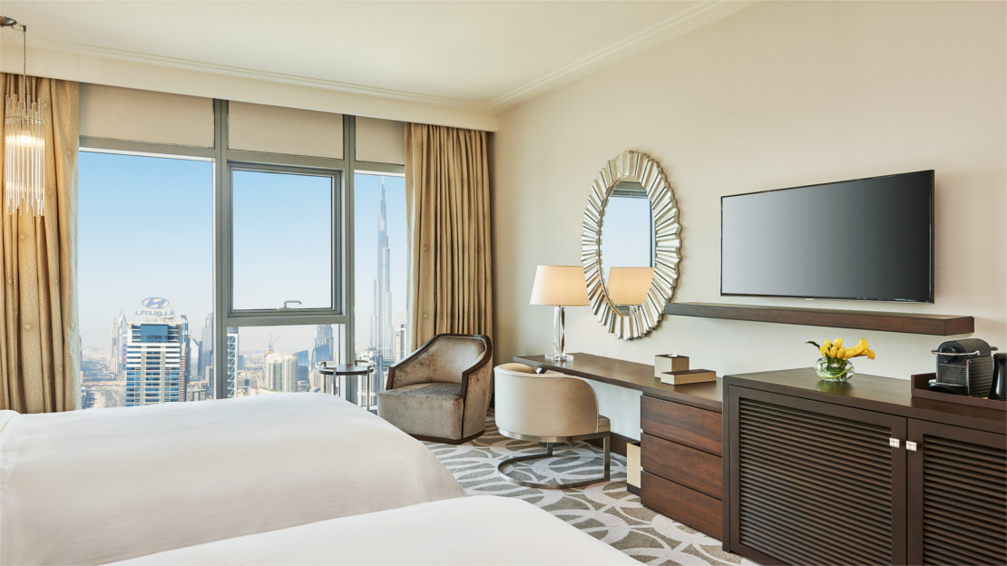 1/12  Westin Al Habtoor City, Deluxe Twin Room