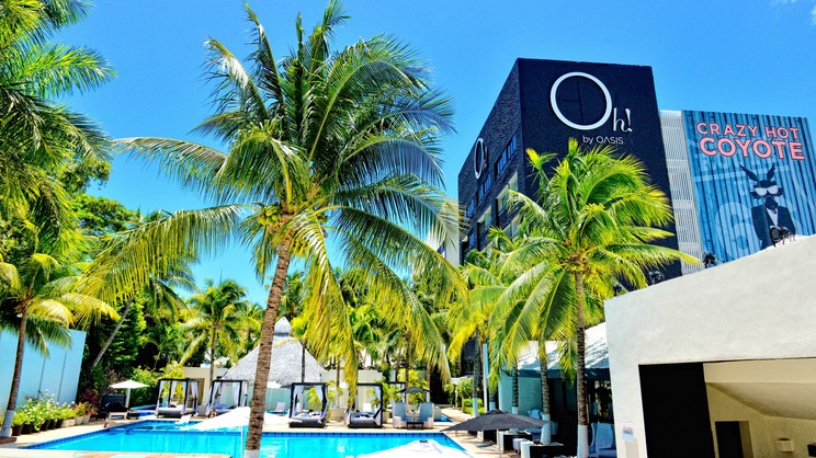 1/12  Oh! The Urban Oasis - Cancun