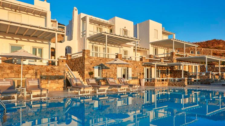 1/14  Mykonos Number 5 Hotel and Villas - Mykonos