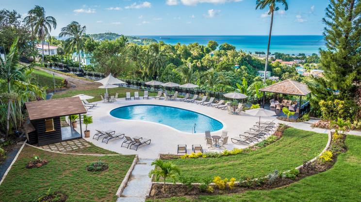 1/8  Bel Jou Hotel - St Lucia