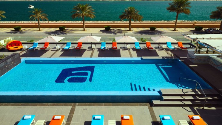 1/8  Aloft Palm Jumierah - Dubai