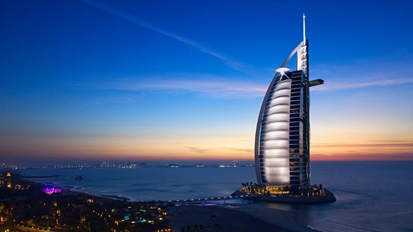 The Burj Al Arab