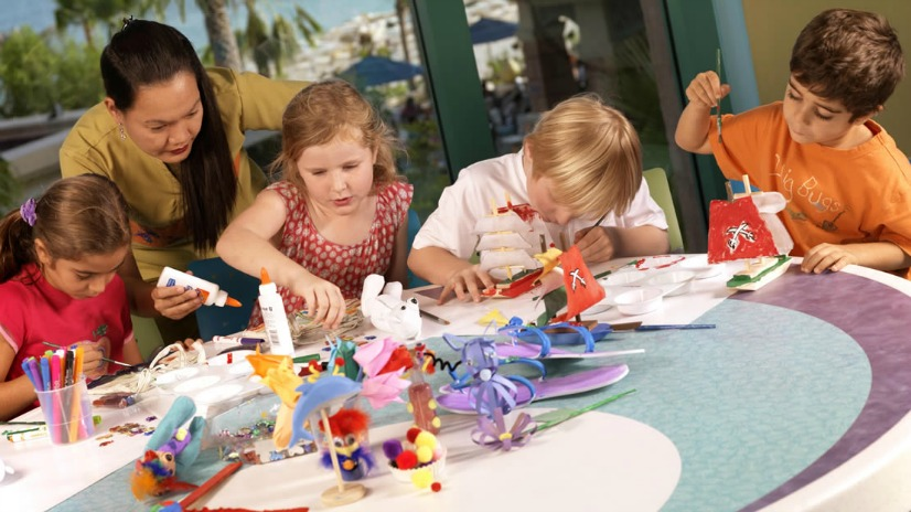 A kids club in Dubai