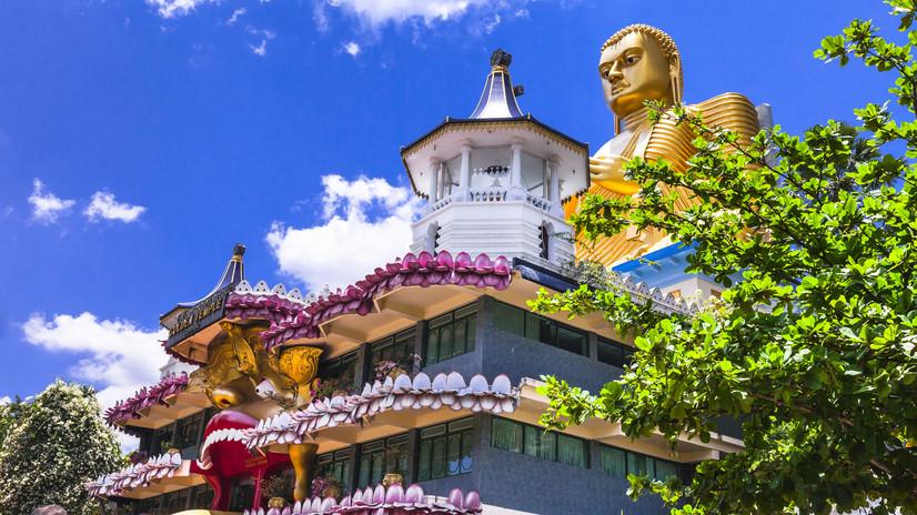 Sri Lankan Temple