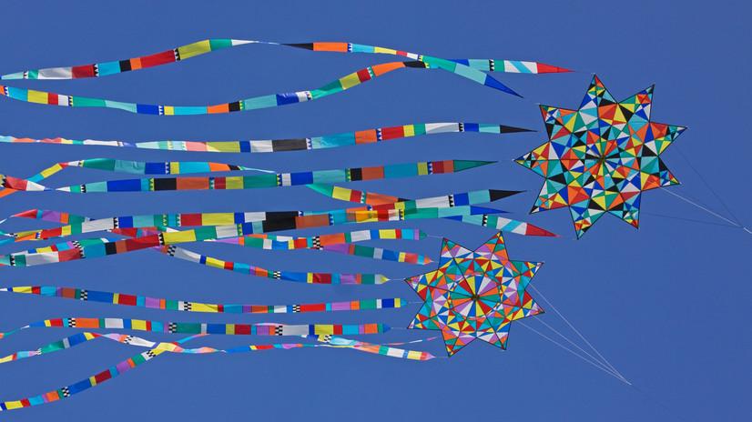 Easter Kite Flying in Bermuda
