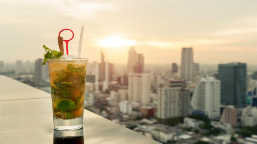 Rooftop Cocktails