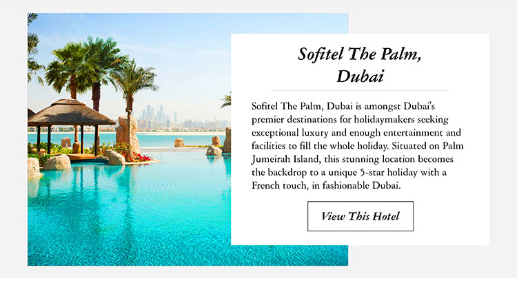 Sofitel The Palm, Dubai
